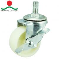 Buy cheap 3 Inch Screw with Brake Industrial Caster from wholesalers