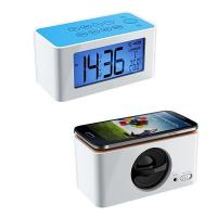 Buy cheap Radio Alarm Clock with Wireless Iductive Speaker for iPhone Smart Phones from wholesalers