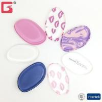Buy cheap Silicone Makeup sponge Puff leaf shape color printing Beauty Silicone Blender makeup tools from wholesalers