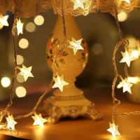 Buy cheap Battery Powered Star Shape LED Fairy Light from wholesalers