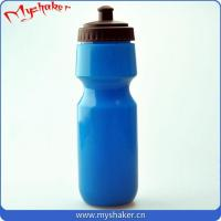 Buy cheap Wholesale bpa free food grade plastic 750ml PE sport water bottle from wholesalers