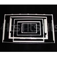 Plastic products White-frame