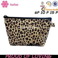 cheetah makeup bag