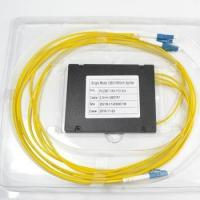 1*3 FTTH ABS PLC splitter with LC/UPC connectors