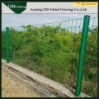 CE certificated peach post welded mesh fence
