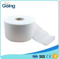 Buy cheap Soft And Ultra White Thermal Bond Hydrophilic Nonwoven Fabric Roll Sanitary Napkin Raw Material from wholesalers