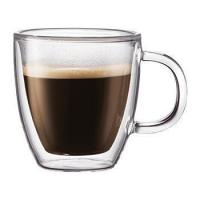 Buy cheap Glass Drinkware Type and Stocked Feature Double Walled Glass Espresso Cup from wholesalers