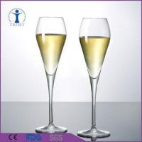 China Factory wholesale Antique Style Machine Made Big Crystal Champagne Glass
