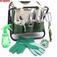Buy cheap 10 Piece All-In-One Garden Tool Kit & Folding Stool/Bag, Cast-Aluminium Hand Tools from wholesalers