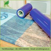 Buy cheap Protective Film for Hard Surface Clear Blue Granite And Marble Protective Film product