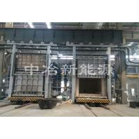 80t trolley type forging heating furnace
