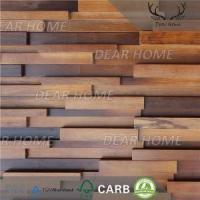 Buy cheap 3D Wood Wall Panels 3D Water Proof Wood Feature Wall from wholesalers