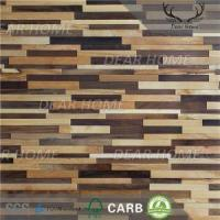 Buy cheap 3D Wood Wall Panels 3D Modern Wood Wall Paneling from wholesalers