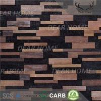 Buy cheap 3D Wood Wall Panels 3D Wood Wall Cladding Exterior from wholesalers