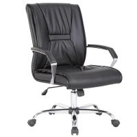 Buy cheap KB-9627B Multi-functional Black Leather Office Chair/Modern Computer Office Furniture/Swivel Chair from wholesalers