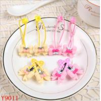 Buy cheap CH-Y9011 Export to Europe double layer bow hairpin set for kids from wholesalers