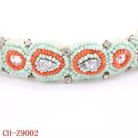 Buy cheap CH-Z9002 High quality hairband lady baby headband soft elastic hairband wholesale from wholesalers