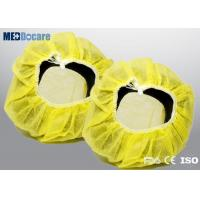 Disposable headphone cover yellow color strength extensile one size fits all