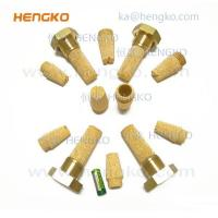 Buy cheap Sintered Brass Bronze Filter Microns Powder Sintered Porous Brass Filters from wholesalers