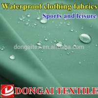 Buy cheap Outdoor waterproof polyester pongee fabric from wholesalers
