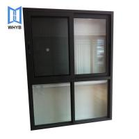 Buy cheap double glass high quality sliding window with mosquito net from wholesalers
