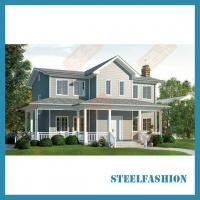 Buy cheap 268sqm luxurious prefab metal building from wholesalers