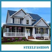 China 3story small prefab modular homes american style low price on sale