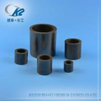 Buy cheap Graphite Raschig Ring Ceramic Tower Packing from wholesalers