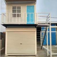 shipping container garage for cars prefab flat pack container garage for sale