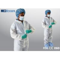Disposable coveralls cheap bulk microporous material dustproof and water repellent