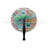 """Custom Pattern Printed Paper Folding Fans Accordion with PP Handle 3.5"""" 5.5"""" 6.5"""" Length"""