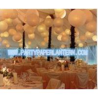 Buy cheap Different Shaped Decorating Wedding Paper Lanterns With Soft Colors , Size Customized product
