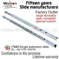 Buy cheap hardware products 17MM Single extension slide from wholesalers