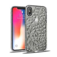 Diamond pattern TPU cell phone case for iPhone