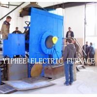 induction electric furnace work site in Russia