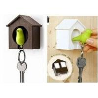 Buy cheap Plastic Little Bird House Whistle Finder Key Chains promotion gift from wholesalers