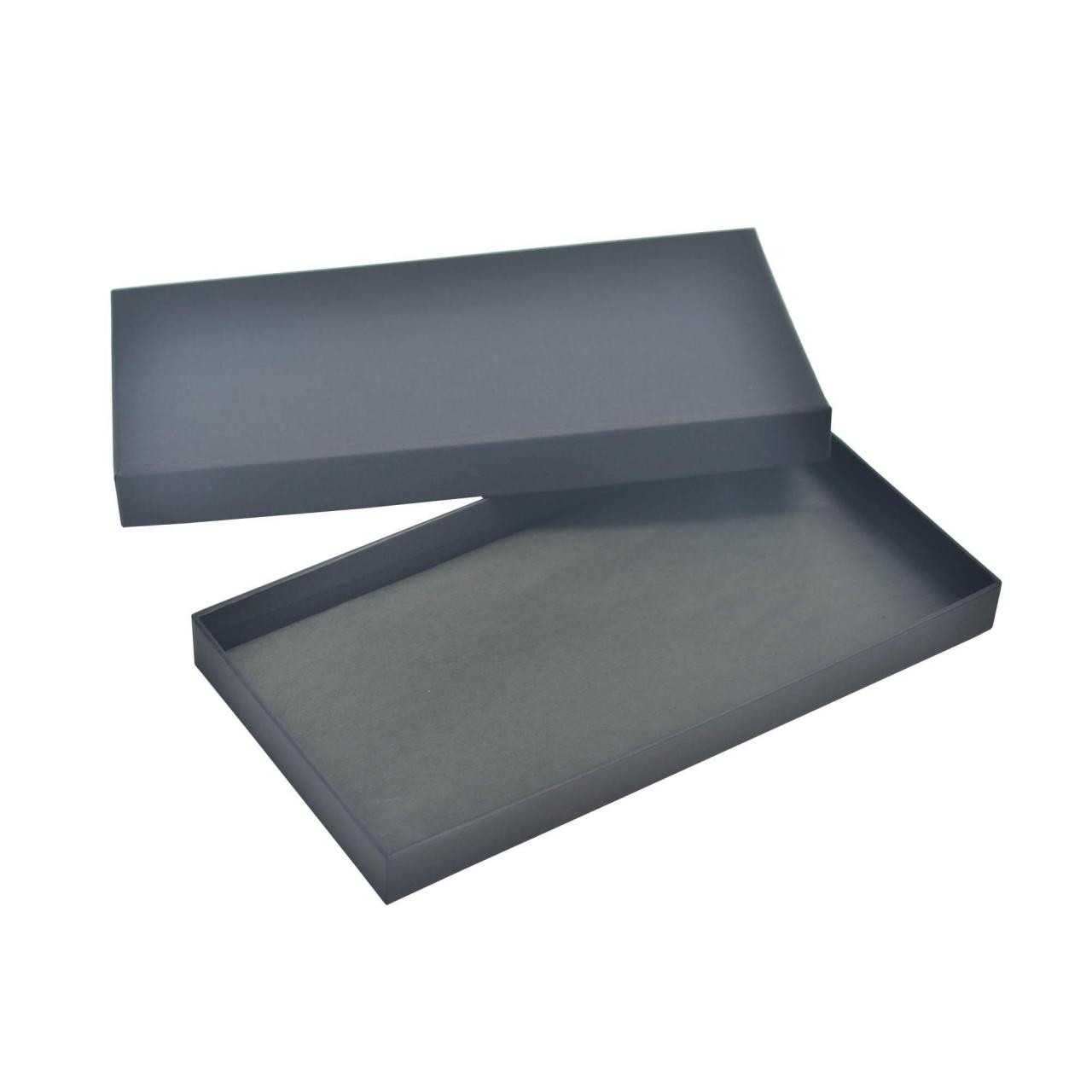 Buy cheap Black Classical Two Pieces Lid Gift Boxes Tissue Paper Insert Custom Design product