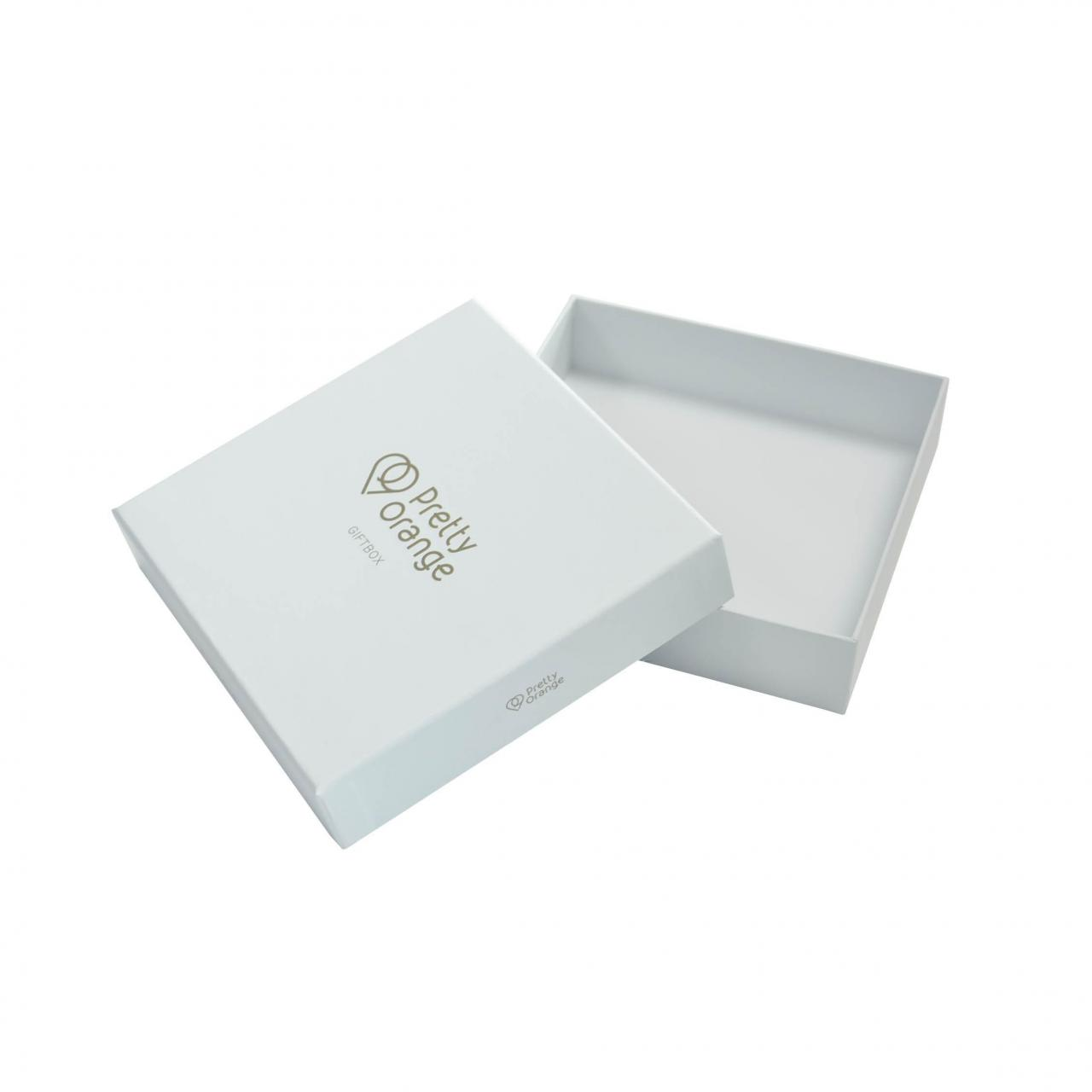 Buy cheap Embossed Logo Gold Stamping Lid Gift Boxes Inside Printed product