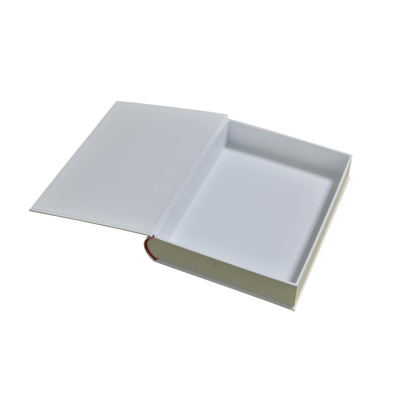 Buy cheap Custom Logo Design Book Shaped Gift Magnet Paper Boxes product