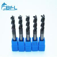 Buy cheap BFL Solid Carbide 3 Flute Aluminum New Design End Mill With DLC Coating from wholesalers