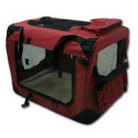 Pet Carrier Foldable Pet Carrier with Steel Pipe