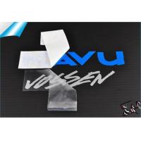 Buy cheap UV resistant outdoor durable custom self adhesive car body decal, custom car window decal from wholesalers