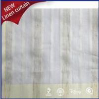 Buy cheap high quality linen fabric for window curtains from wholesalers