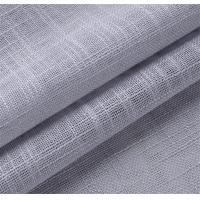Buy cheap Silver color linen fabric window product