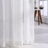 Buy cheap Linen strip curtain from wholesalers