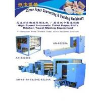 Buy cheap Auto Toilet Paper Roll / Kitchen Towel Rewinding, Perforating Machine from wholesalers