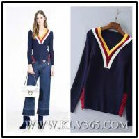 Buy cheap Ladies Fashion Winter Wool Christmas Top Sweater Whloesale from wholesalers