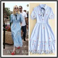 Buy cheap High Quality Designer Women clothing Cotton Printed Long Maxi Dress from wholesalers