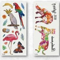 Buy cheap Fashional Factory Kids Water Transfer Temporary CMYK Tattoo Sticker from wholesalers