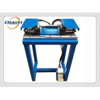 Buy cheap Automatic double riveting head eyelet punching machinex from wholesalers